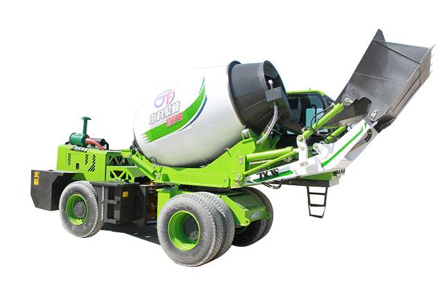 <b>混凝土搅拌车的运用系统的特点及介绍</b>