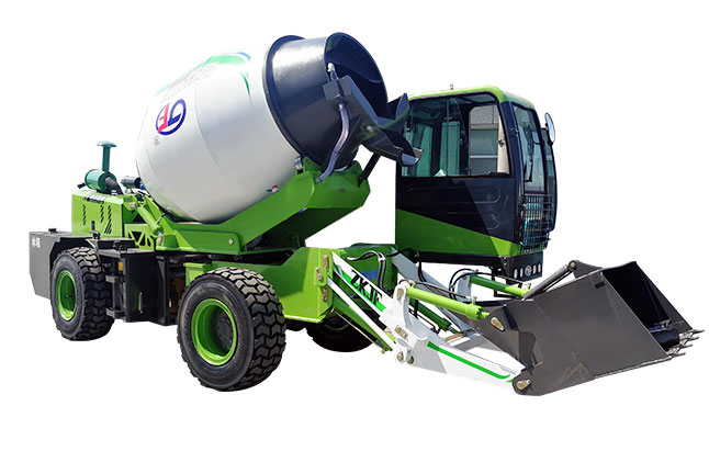 <b>全自动水泥搅拌车是如何完成工作的?</b>